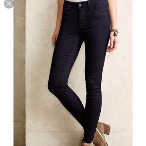 Level 99 Black Skinny Jeans